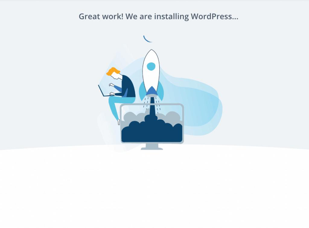 Auto-instalación de WordPress
