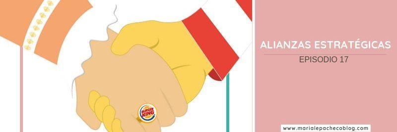 Alianza con la competencia caso McDonalds y Burger King