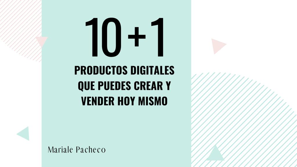 Lista de Productos digitales