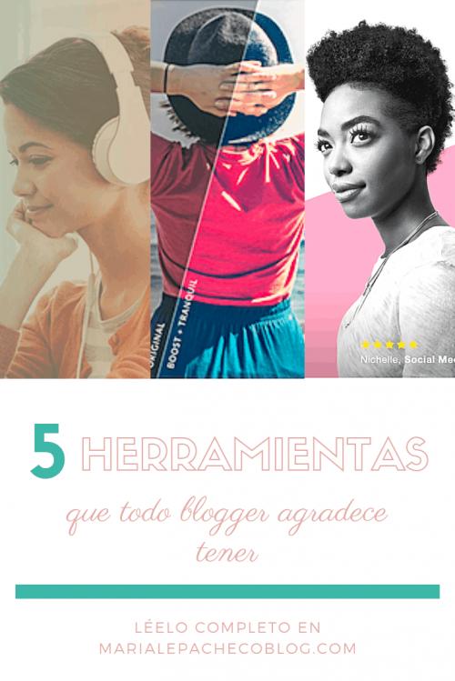 5 herramientas que todo blogger necesita